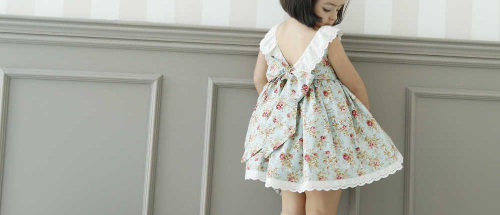 Espalda Julie Dress. Patrón vestido para niña.